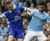MC 3 - 1 Everton : Negredo, Aguero tỏa sáng